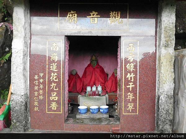 尾寮古道南段上的觀音廟
