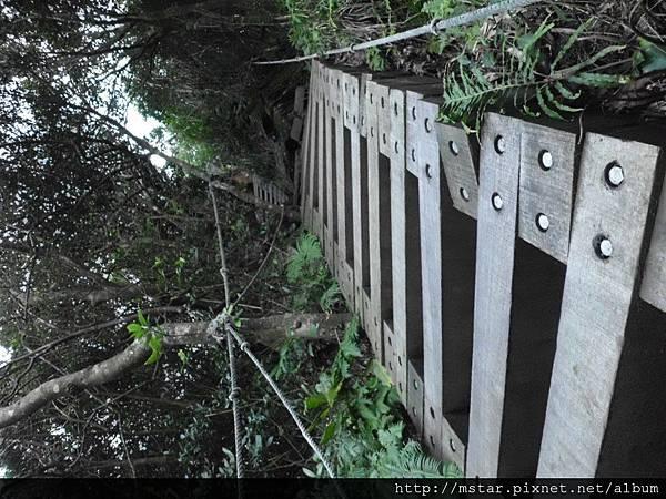 第二三段陡上木梯