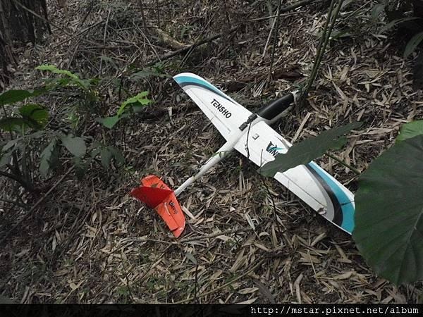 失事的飛機