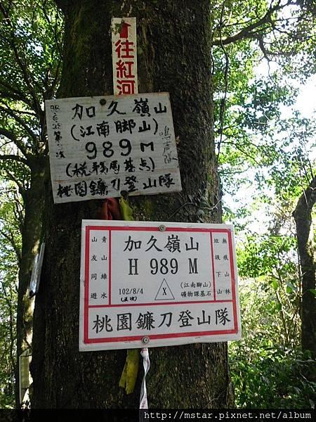 加九嶺 989M