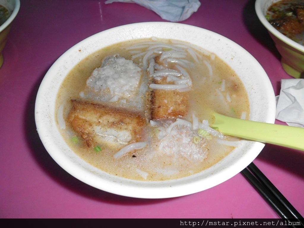 白帶魚米粉湯
