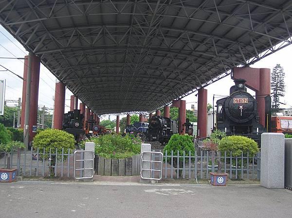 苗栗鐵道展示區