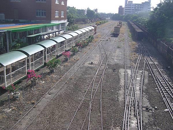 糖鐵中興車站站場