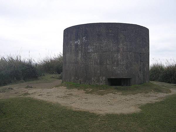 竹篙山 831M 山頂碉堡