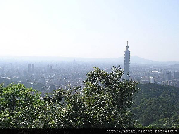 展望台北市區