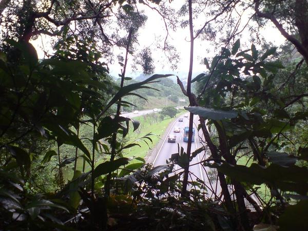 國道三號聯絡道隧道上方