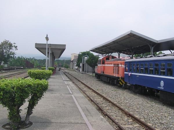 CK124 在濁水車站休息