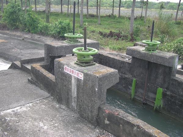 灌溉用水渠?