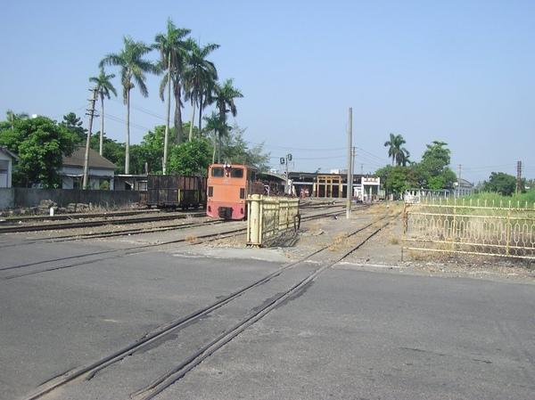 糖鐵新營站站場