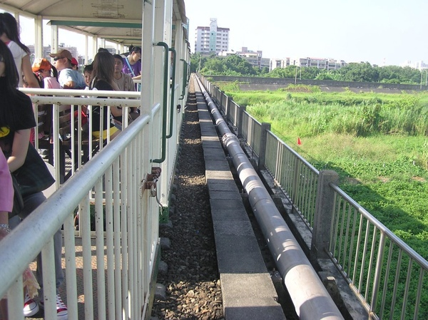 急水溪橋上