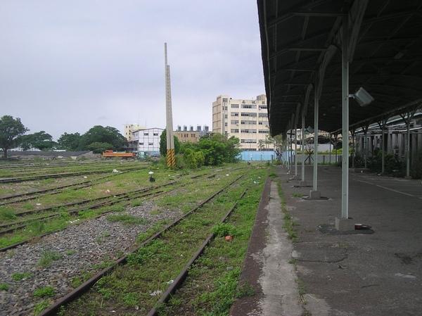 高雄港車站 站場