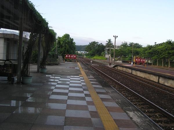 清晨的瑞穗車站