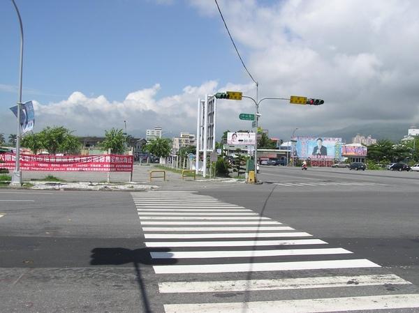 舊花蓮車站的大約位置