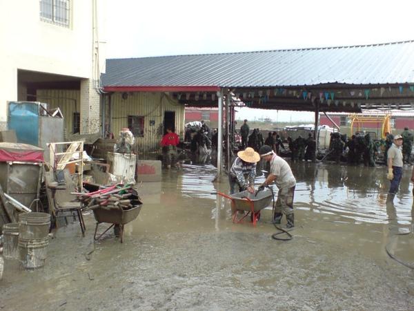 下雨增加積水