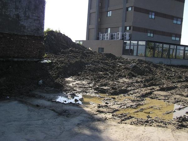三腳木山基石已被掩埋