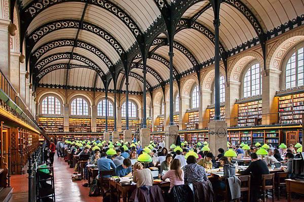 巴黎-Saint Genevieve Library