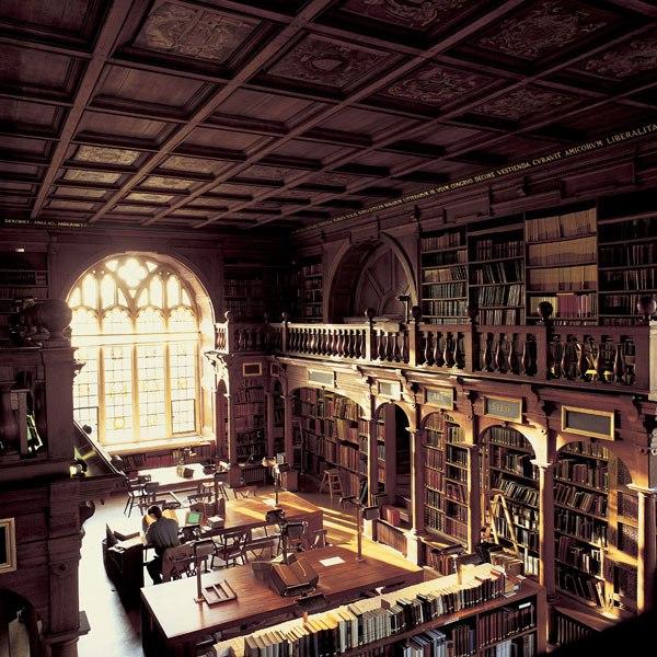 英國牛津-Bodleian Library