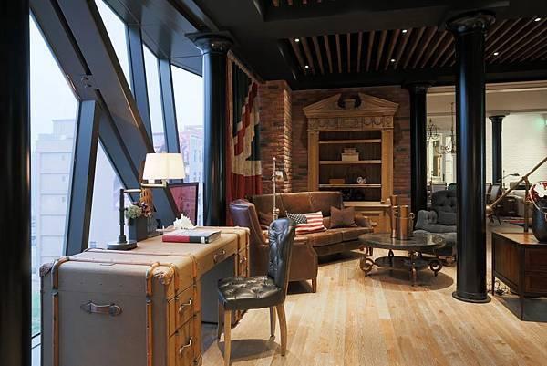 門市主題:曼哈頓蘇活區Loft公寓 2(麗居國際提供)