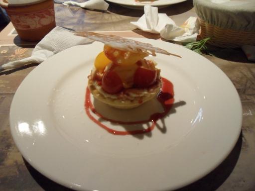 甜點~冰淇淋水果塔
