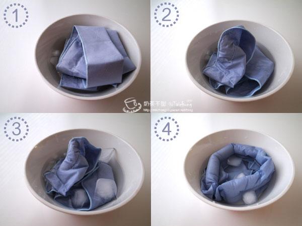 17_冰領巾泡水