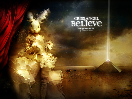 Criss Angel Believe Cirque du Soleil