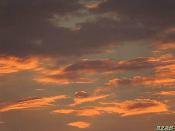 黃昏頂樓霞光20140708(4)