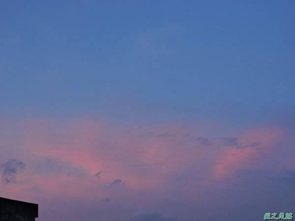 黃昏頂樓霞光20140708(8)