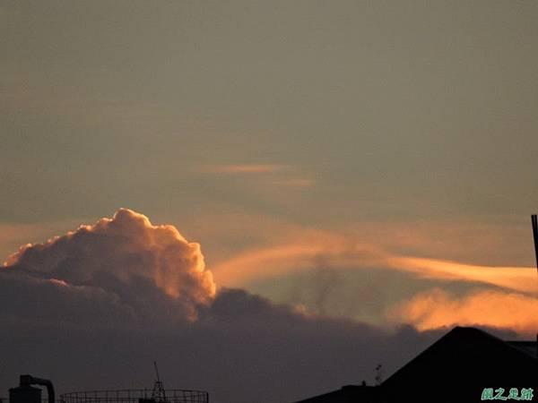 黃昏頂樓霞光20140708(12)