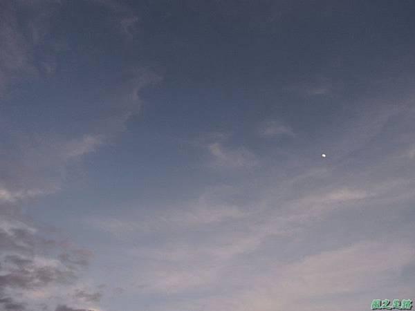 黃昏樓頂賞月20140708(20)