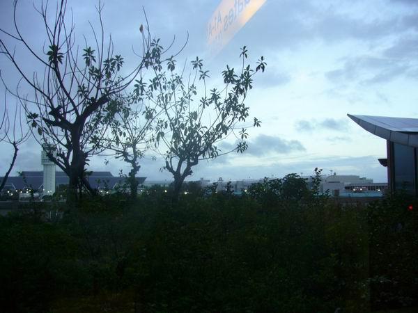 中正機場的早晨