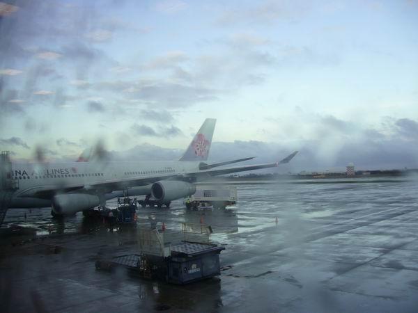 機場的飛機