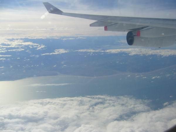 飛上天空去