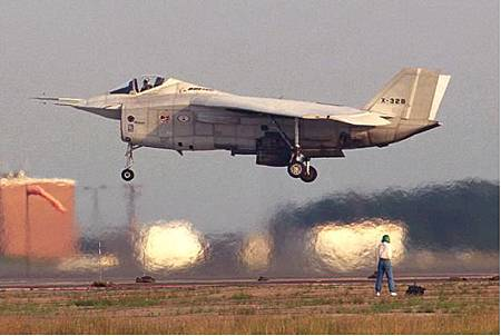 X-32B hovering.jpg