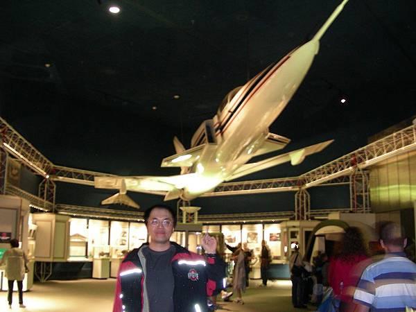 X-29 全比例木製模型