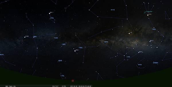 天文週報20170507-木星合月-2.jpg