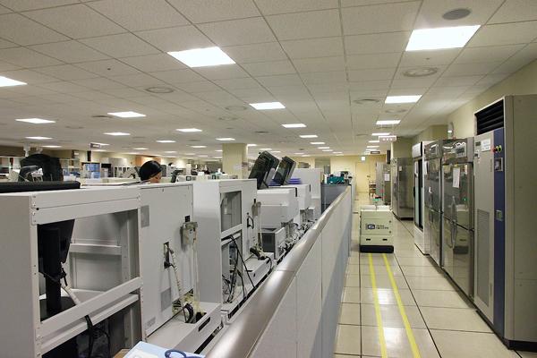 很大的實驗室