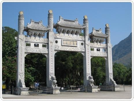 寶蓮寺的門牌
