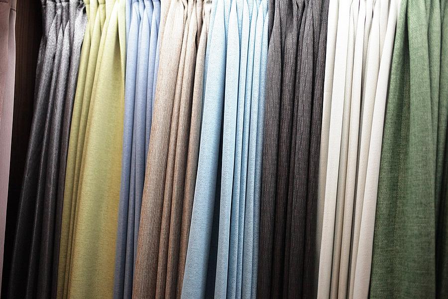 亞麻材質窗簾-亞麻三明治遮光簾-屏東窗簾