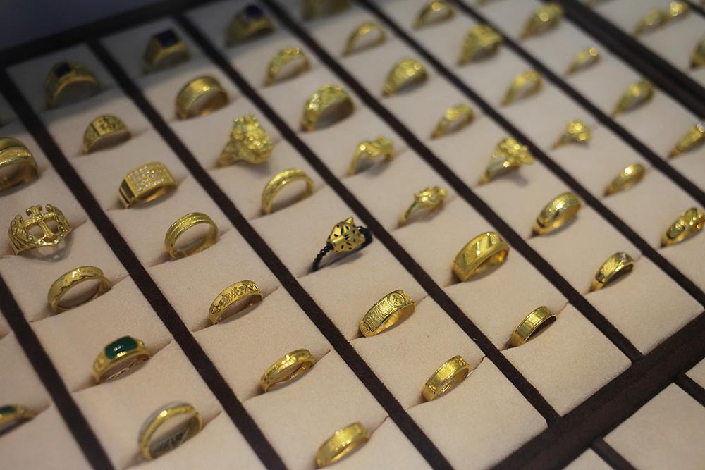屏東黃金戒指