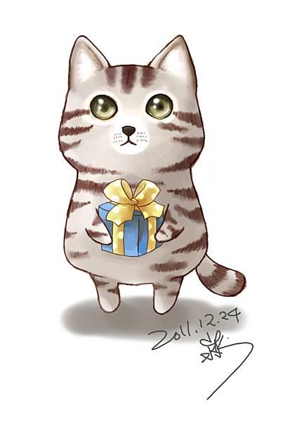 貓咪 圖片 q 版