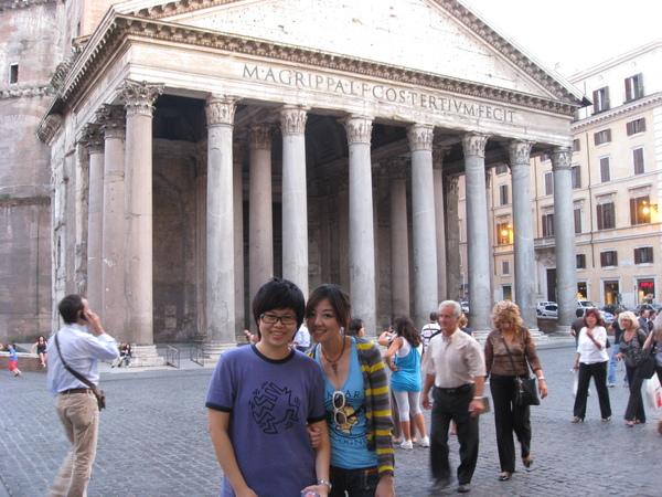 我們來Rome過 honeymoon