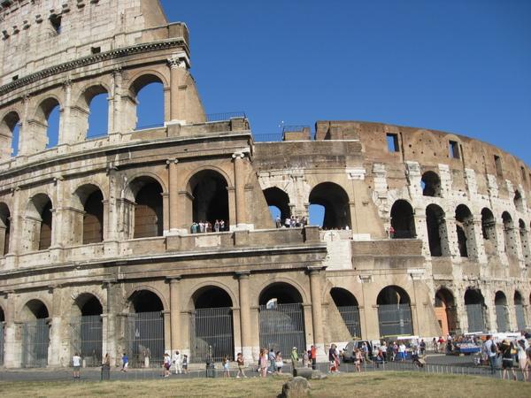 我朝思幕想的羅馬競技場