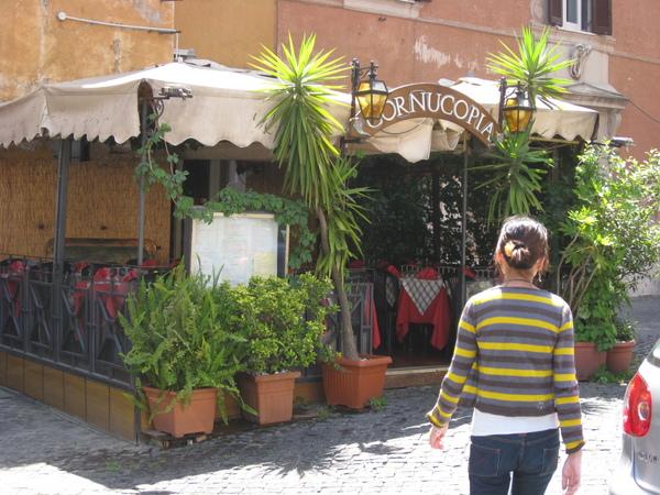終於找到書上說的道地義大利麵店