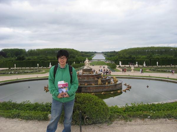 法式花園很對稱