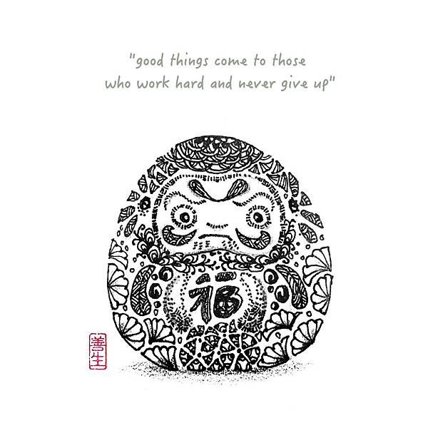 旅居日本:達摩不倒翁 daruma spirit