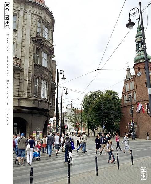 旅居波蘭:安靜陰天裡單車行 1st city bike riding