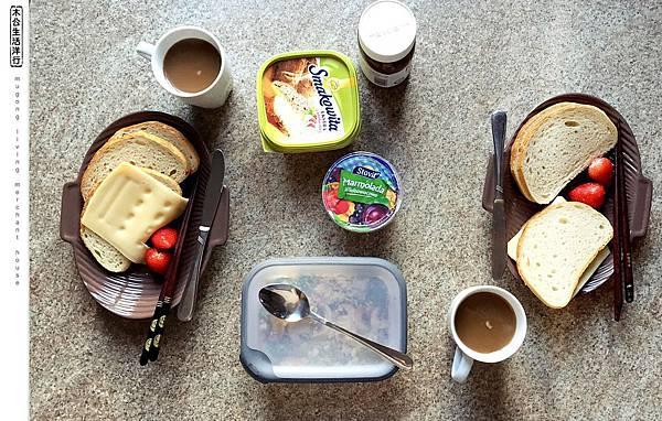 旅居波蘭:作息又差別 6:30 breakfast