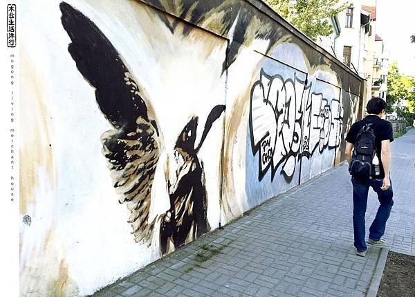 旅居波蘭:音樂區裡的藝術 graffiti art in music district