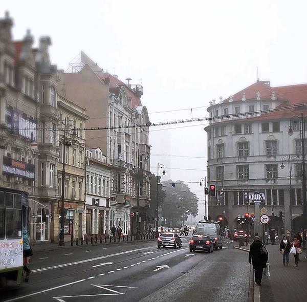 旅居波蘭:霧裡也可以悠閒 cosy foggy day