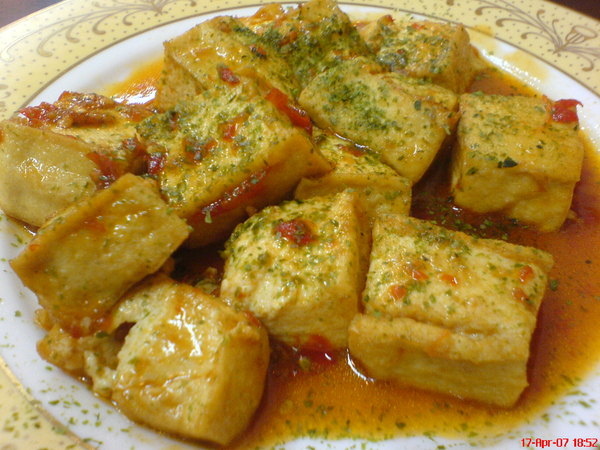 紅燒豆腐~好粗說.JPG
